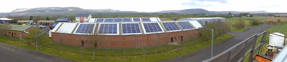 Free solar Aghanloo Ind Estate