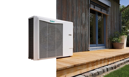 Air Source Heat Pumps - Great for new builds & well insulated homes, ASHP offers a renewables option that doesn't involve any fuel. Heat pumps extract heat from the outside air and use it to heat under floor heating systems, warm air convectors or radiators. They can be installed as a standalone unit or in conjunction with solar PV or other renewable energy sources.