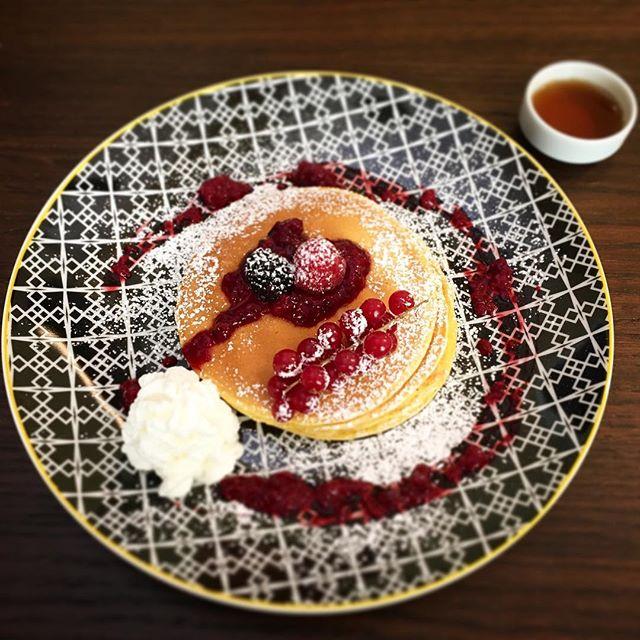 Pancakes for breakfast 🥞 #hotelsanfrancesco #hotelsanfrancescoroma #hsfrome #trastevere #pancakes #breakfast #breakfastintrastevere