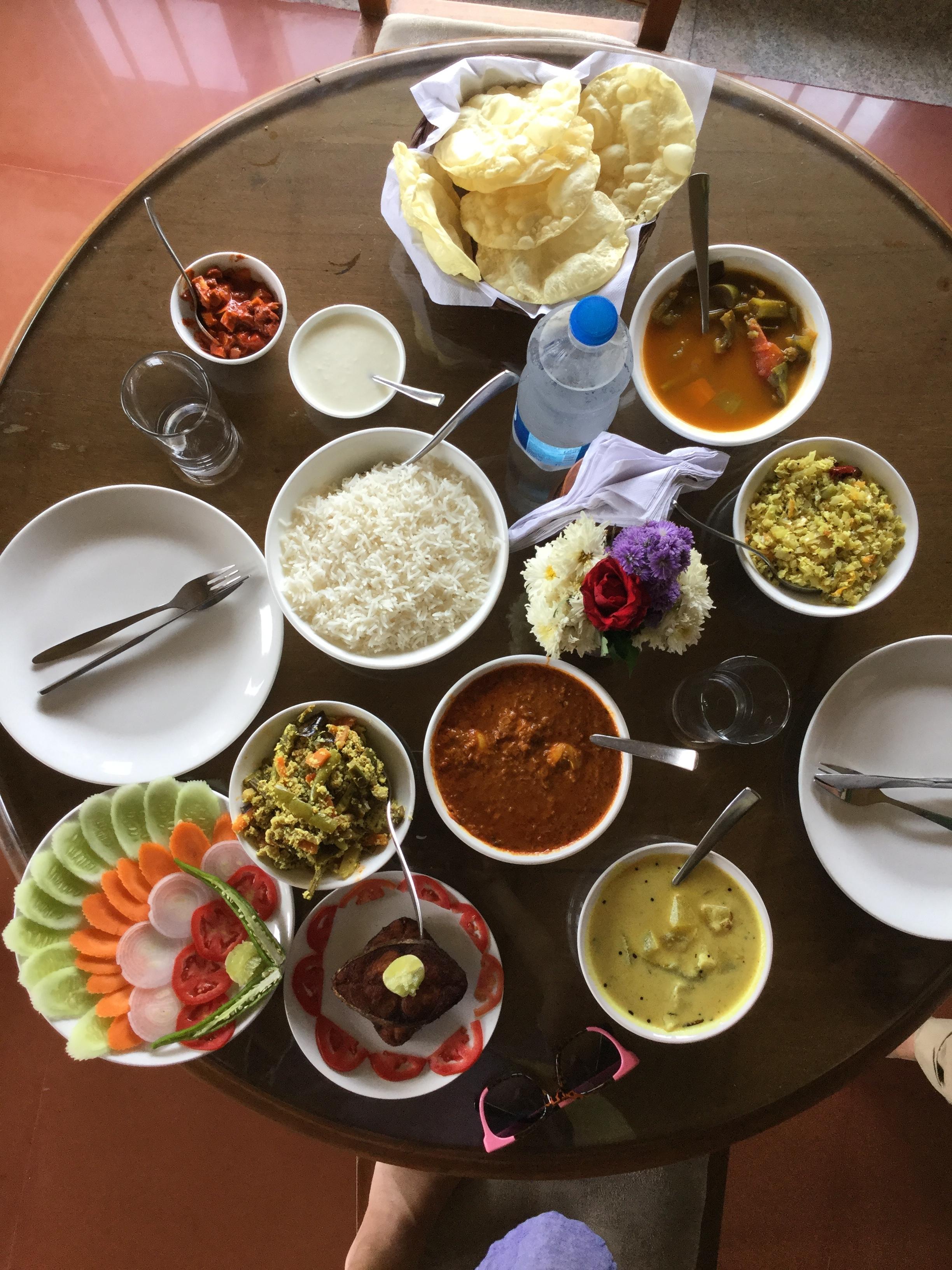 food, kerala