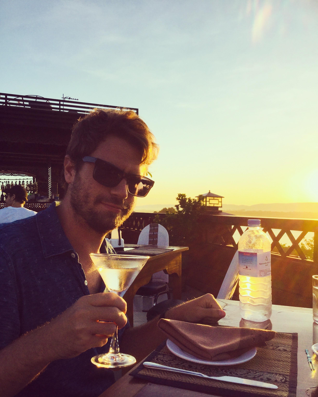 sunset, mandalay