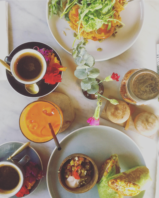 vegan food, peloton bali