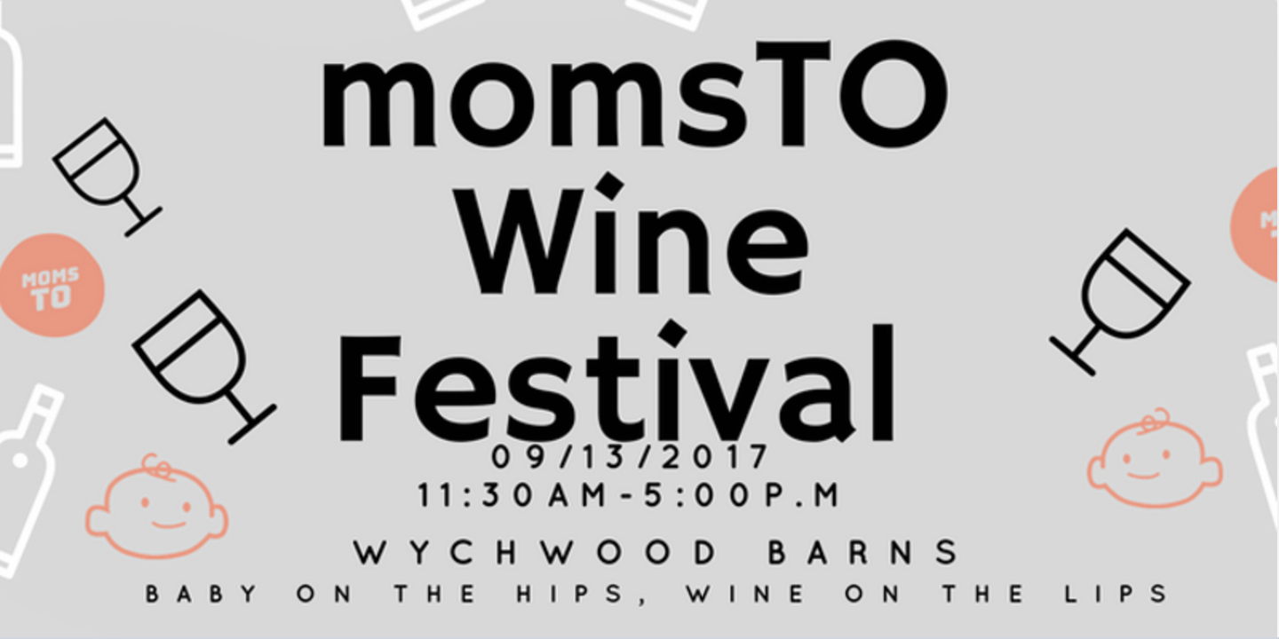 Ad for a mom's event in Toronto. Heads up credit to my girl, Jennifer Baxendale, aka  Sober in the 6 .