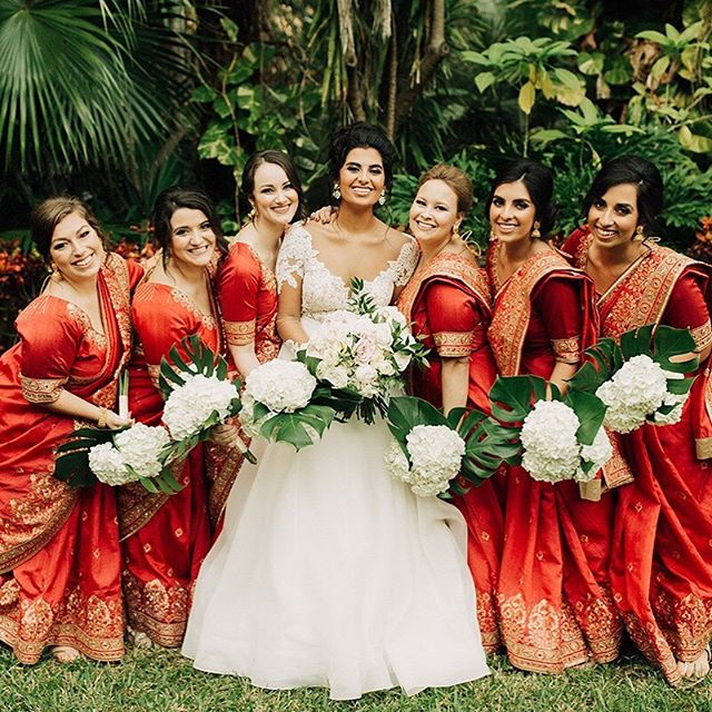 The sweetest wedding party with an even sweeter bride 💕 Photo @rachelhand // Florals @2birdsevents // Beauty @style.hairandmakeup // Gown @whitemagnoliabridal