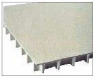 有盖格栅具有坚固表面的附加优点,可防止物品从面板格栅中掉落。为安全起见,增加了防滑表面。