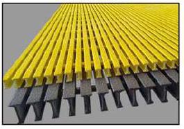 高强度单向粗纱允许在较大跨度上具有更大的承载能力。还提供耐火和耐化学腐蚀选项。