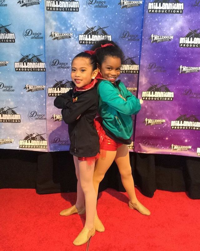 | Mini Munchkins | getting excited for round 2 in Huntsville next weekend! #dancecompetition #dancers #bestfriends #cuties