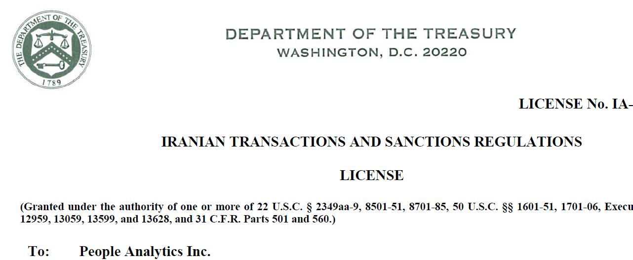ofac license