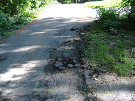 Asphalt Curbing 1 of 5