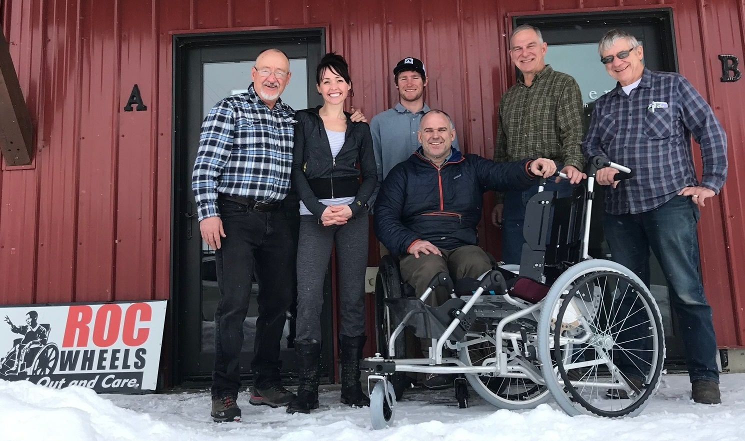 Wayne Hanson, Jeni Ramsey, Reef Larwood, Dave Calver, Martin Haas, Paul Nokes   THE PARTICIPANT CHAIR : ROC Wheels was chosen by Participant.Life to be the primary design Team of a new seating and mobility system, to serve children all the way from infancy to young adult ages.