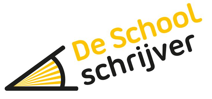 Logo De schoolschrijver