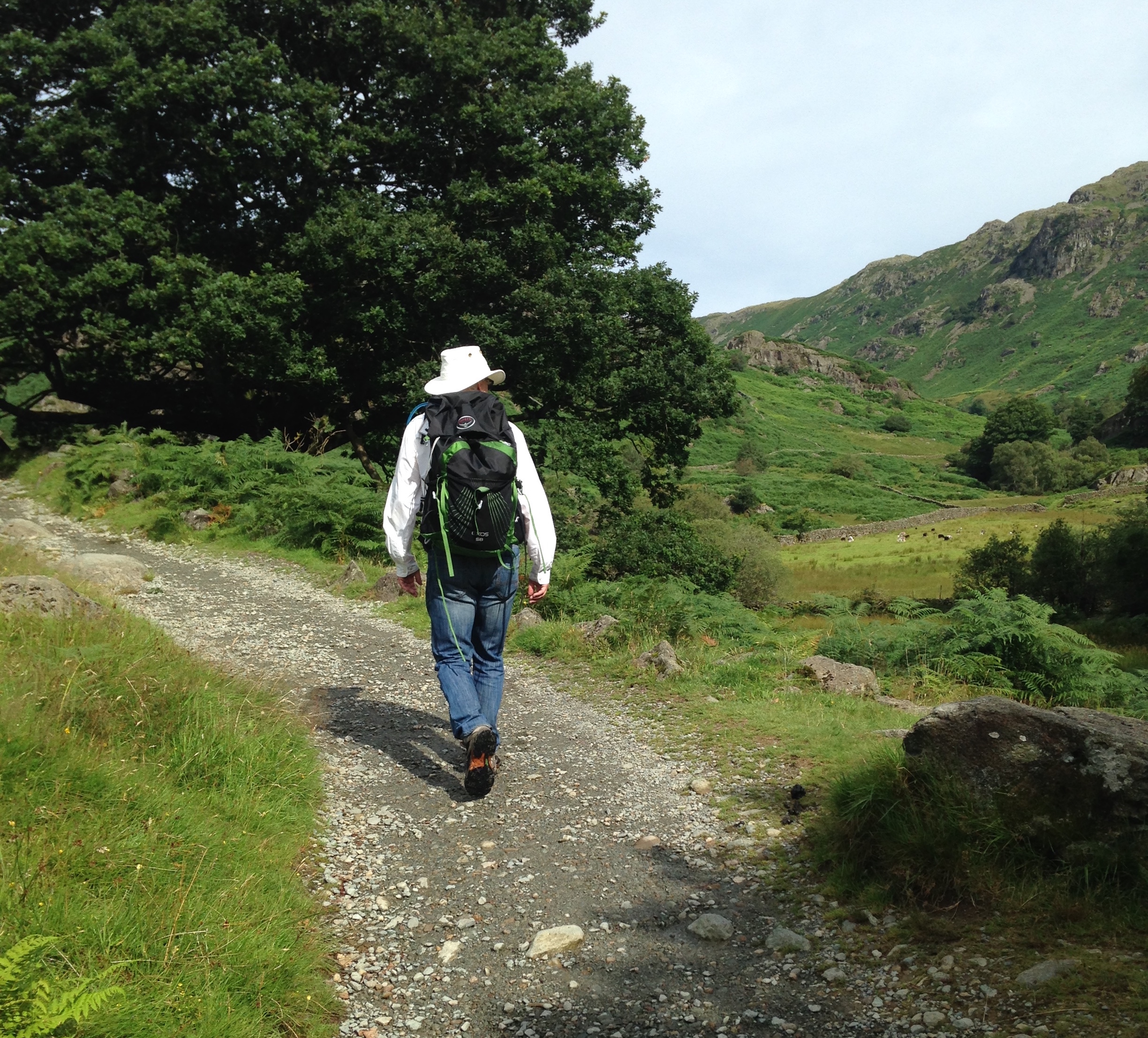 Doug on a hike in the Lake District of England (8/5/16).