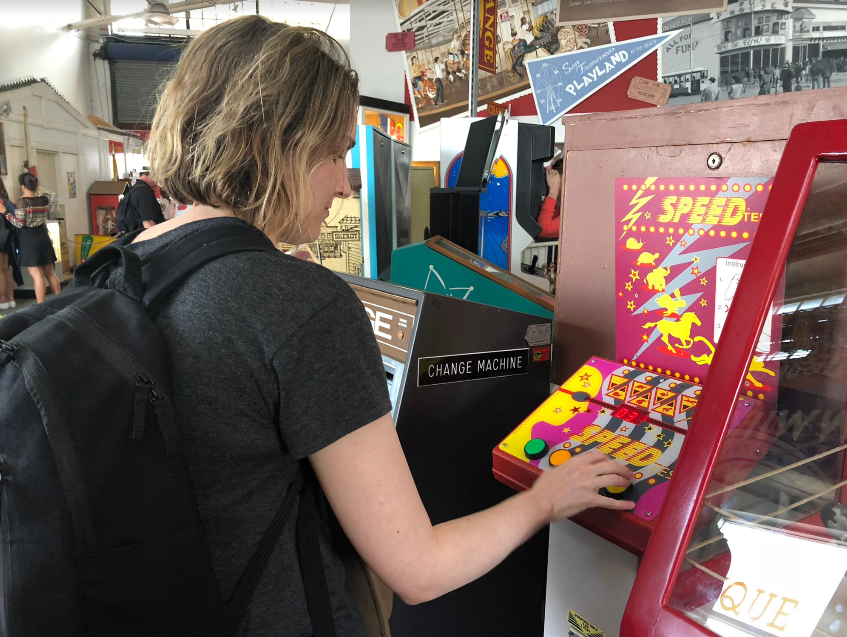 We spoke to collectors of all kinds, physical and digital, collections large and small. We visited a massive antique pinball machine collection in SF.