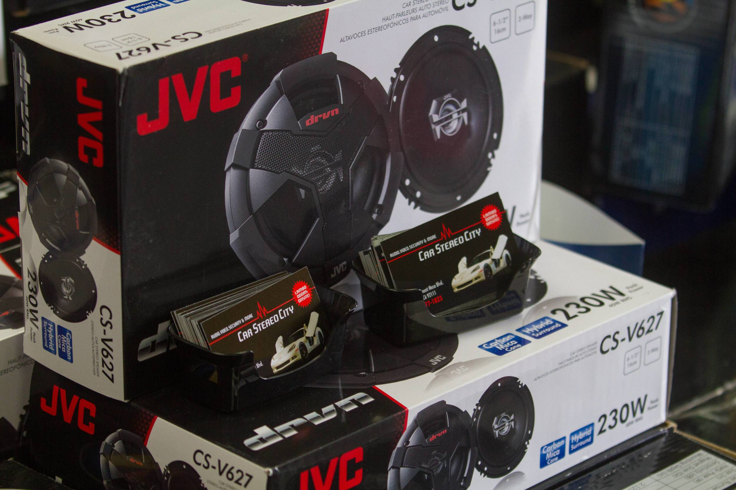 JVC Audio at our San Diego location