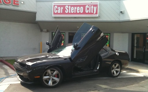 Car Stereo City in Kearny Mesa can get you lambo doors to he your car looking great! We have the best lambo door installation in San Diego.