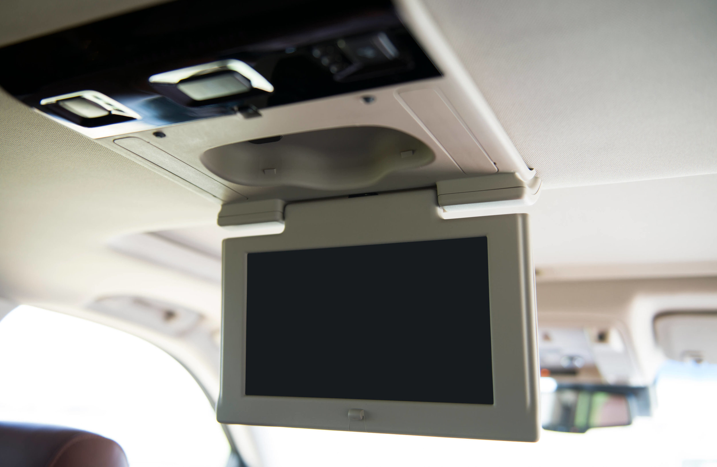 Get a headrest car video player from Car Stereo City in Kearny Mesa. We offer expert installation of car monitors and DVD players to make family road-trips go by in a jiff!