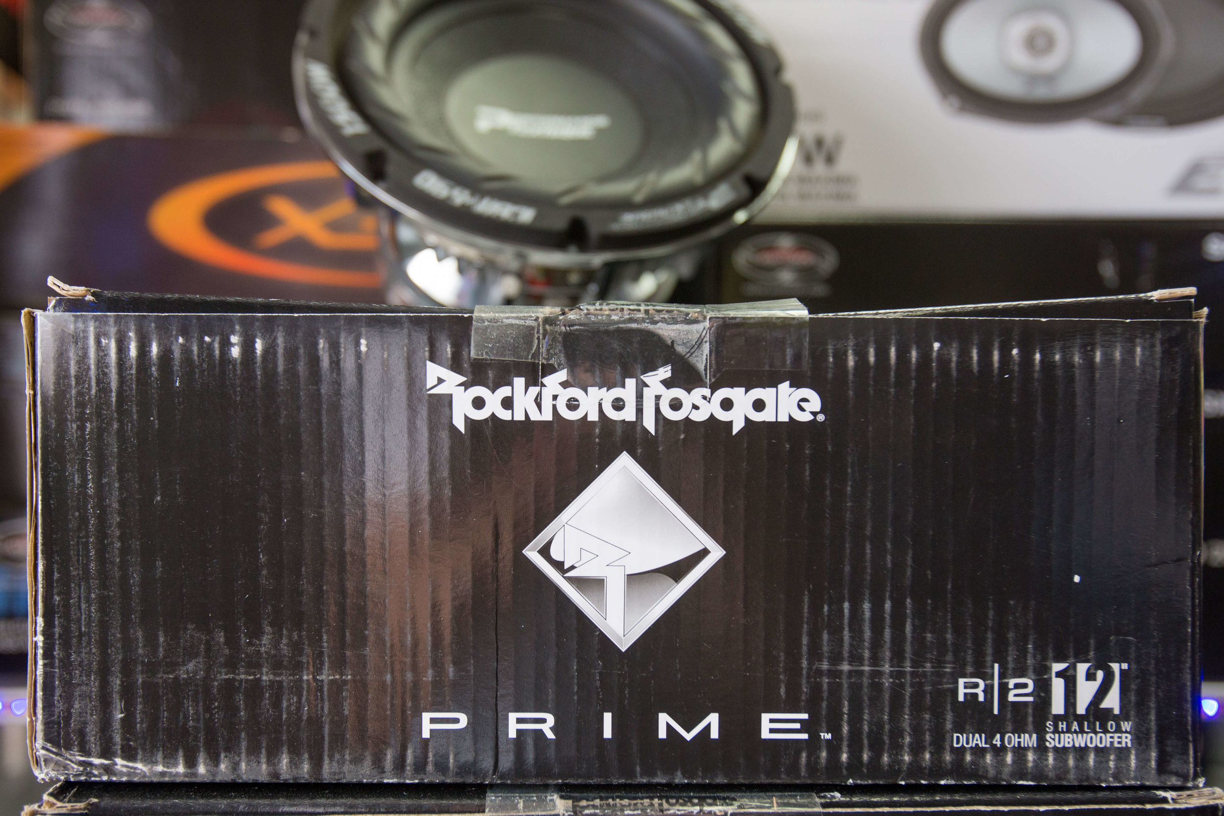 Rockford Fosgate Stereo System Installation San Diego