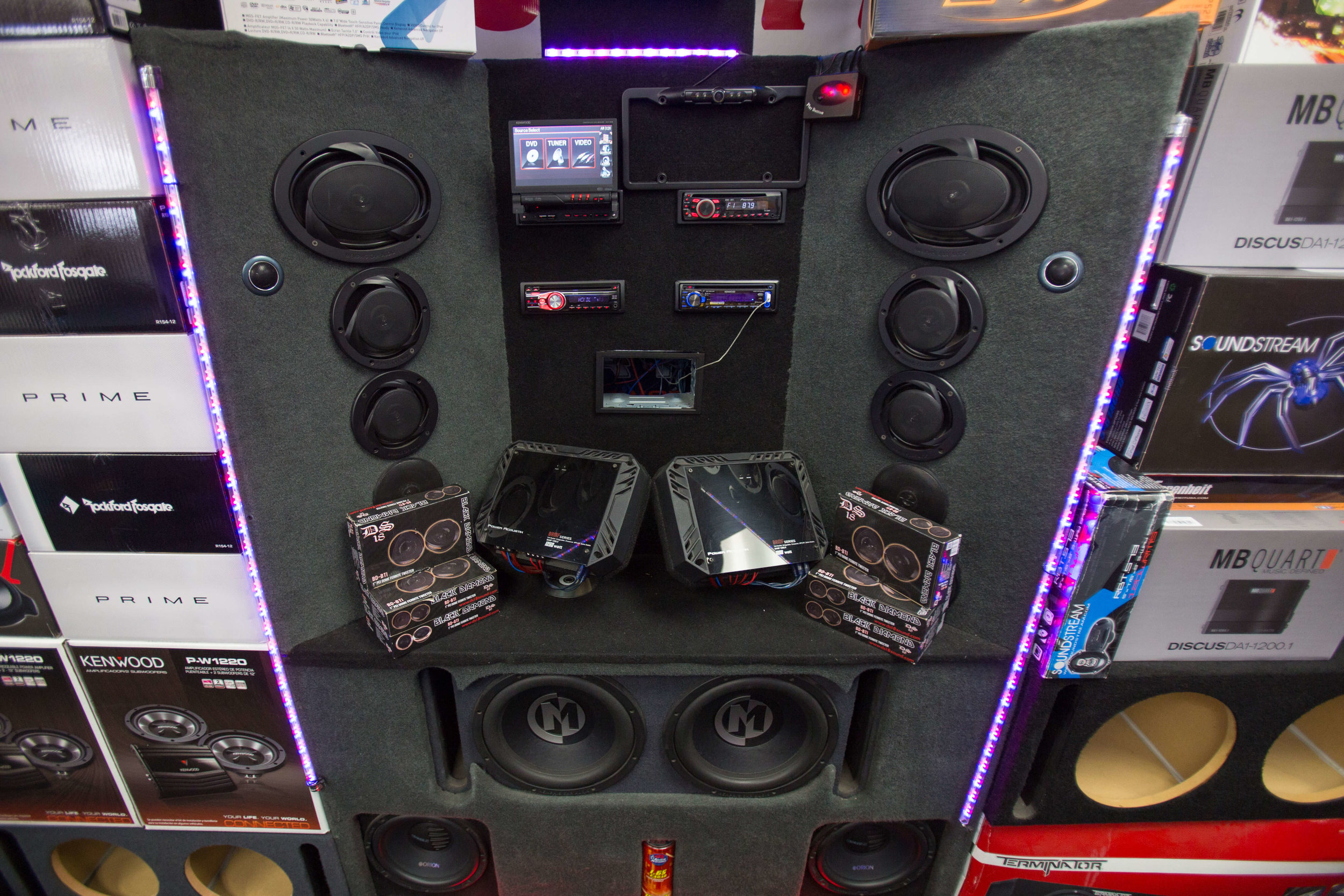 Complete Car Stereo System in San Diego