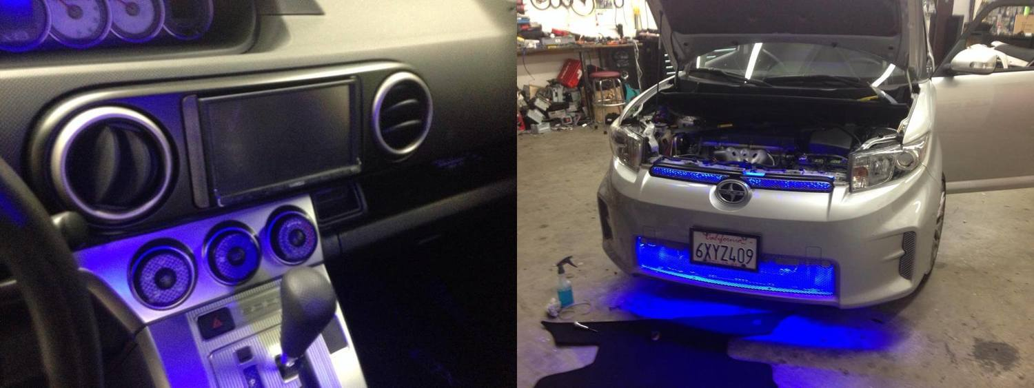 LED lights and LED lighting in San Diego at Car Stereo City.