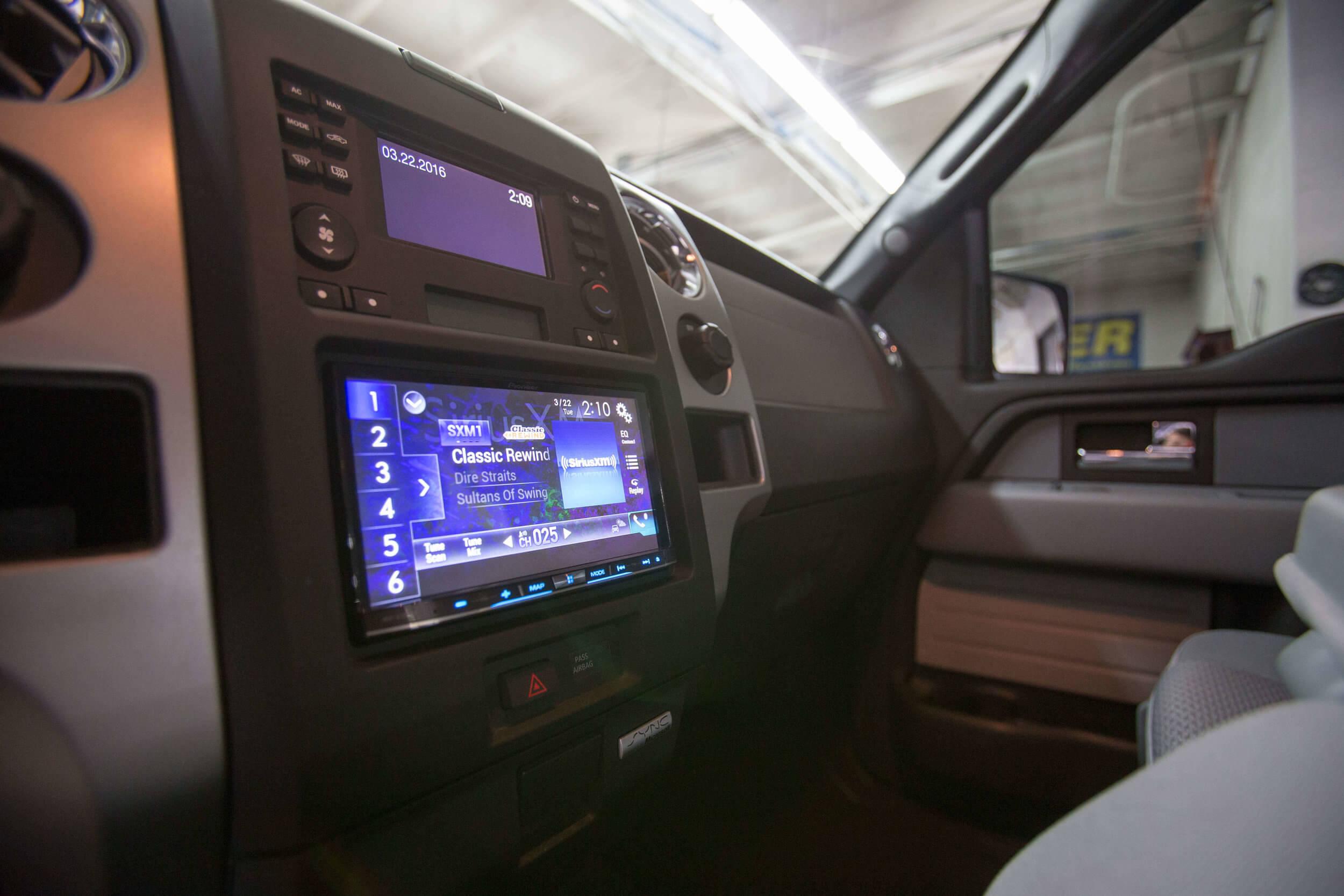 Bluetooth stereo system San Diego music installation.