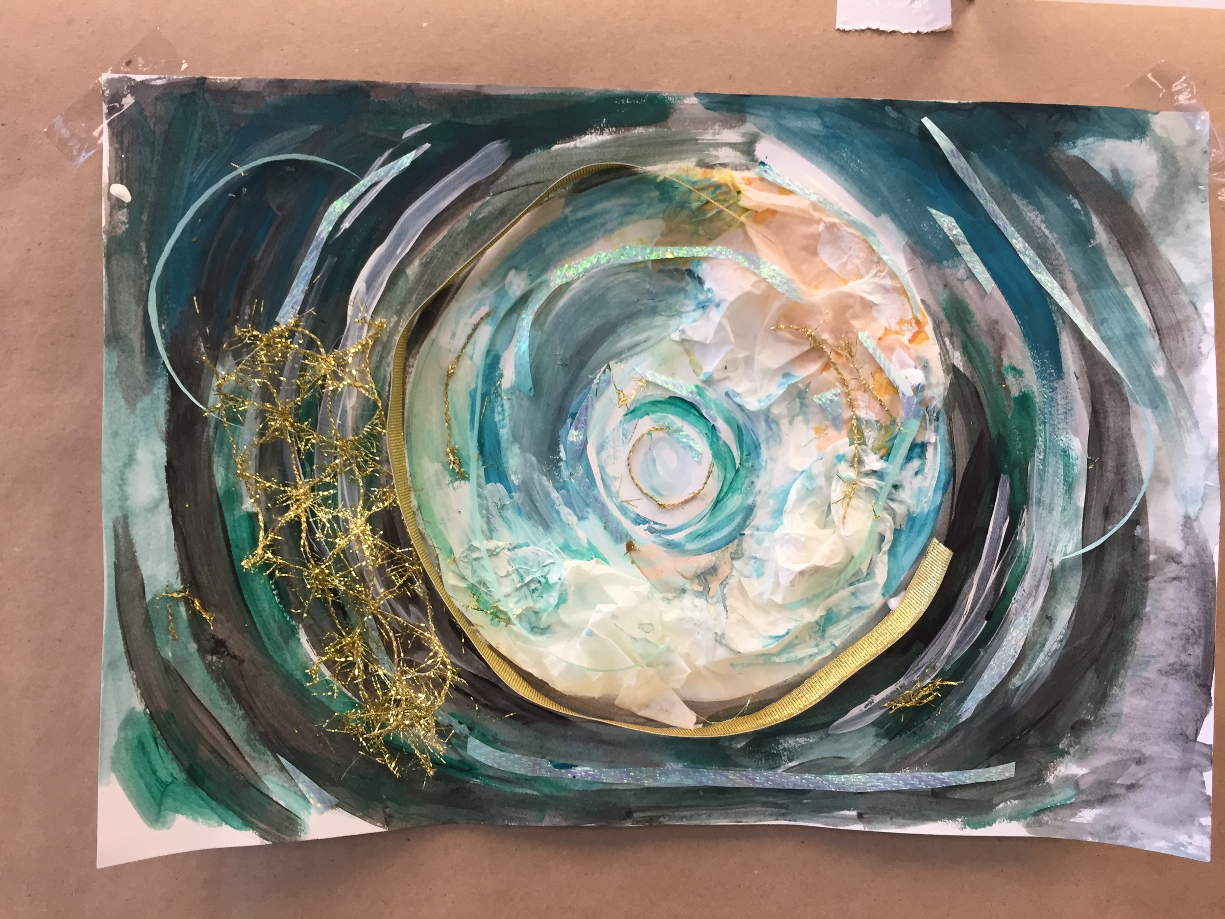 Art Therapy Activity   New American Pathways   2015