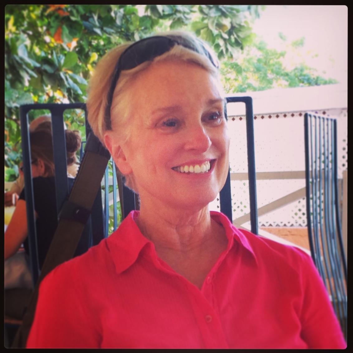 Susan Anderson in Haiti February 2014