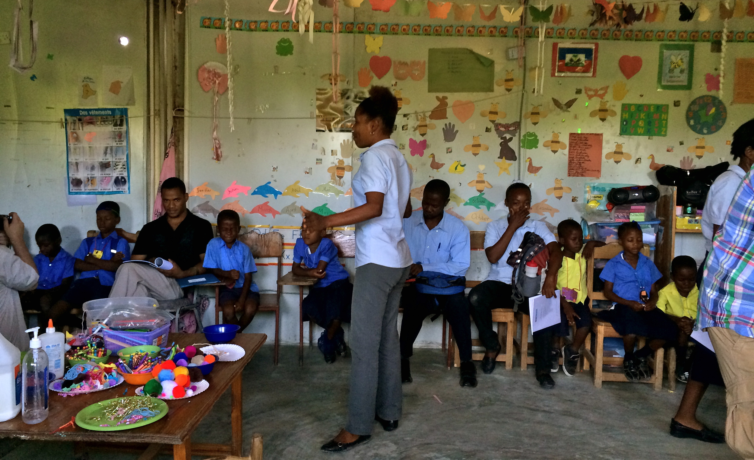 Working in Metaphor | ArtReach Workshop | Haiti 2014