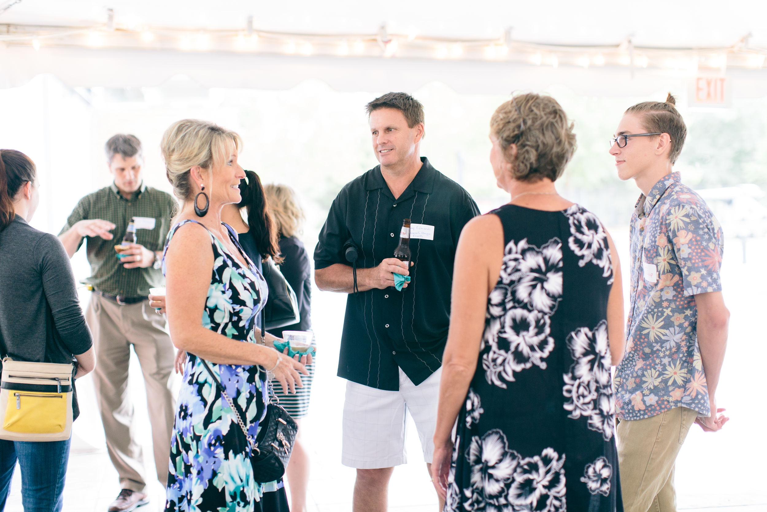 Richmond Weddings hosts monthly industry networking mixers as seen here.