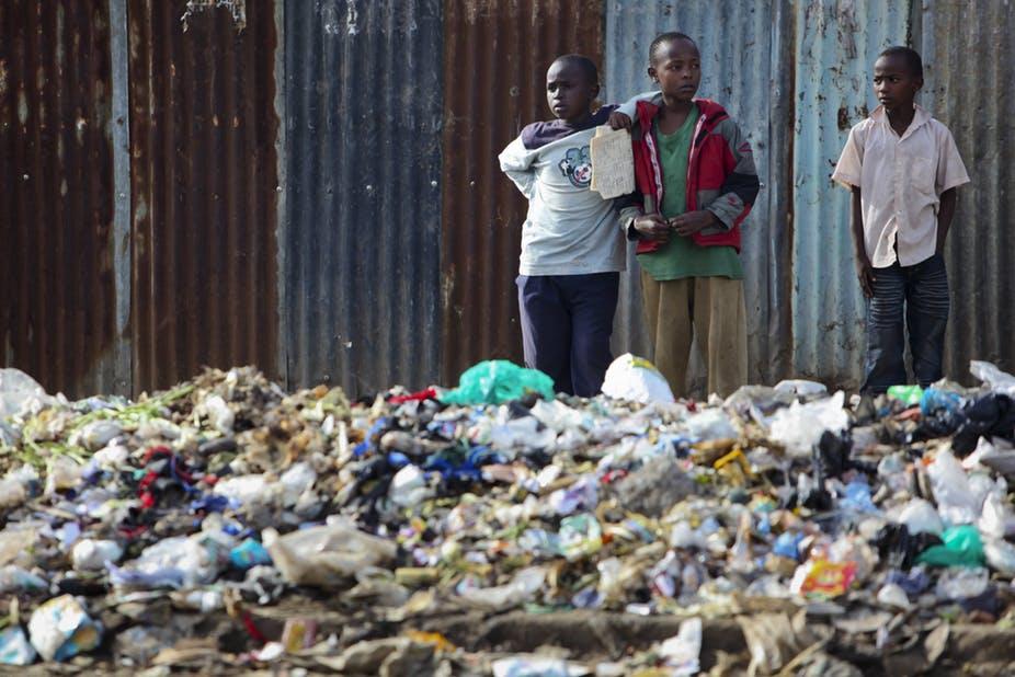 Nairobi's current waste disposal system is fraught with major problems.EPA/Dai Kurokawa
