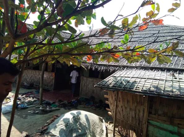 A mosque in one of the Rohingya camps on the outskirts of Sittwe.Cresa Pugh, CC BY