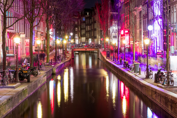 Red Light District 1. By Steve. 3/14/18. CC BY-SA 2.0