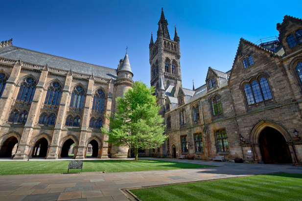 University of Glasgow is one of the universities in Scotland now providing free sanitary products to students. Michael D. Beckwith. CC0 1.0