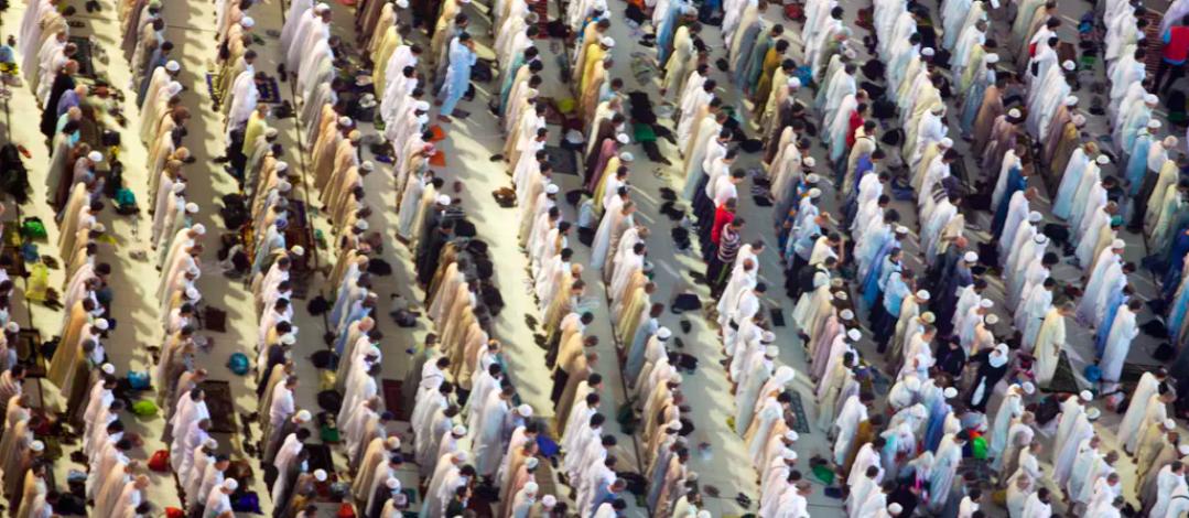 Muslim pilgrims pray at the Grand Mosque, ahead of the annual Hajj pilgrimage in Mecca, Saudi Arabia, in August 2017.AP Photo/Khalil Hamra