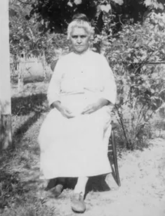 Delphine Ducloux was one of the two last speakers of the Chitimacha language, prior to its revival.  State Library of Louisiana