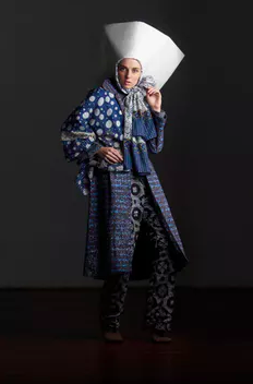 Local textiles in Indonesian fashion. Contemporary Muslim Fashions 22 September 2018 - 6 January 2019 de Young Museum