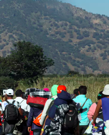 Dozens of migrants disappear in Mexico as Central American caravan pushes northward