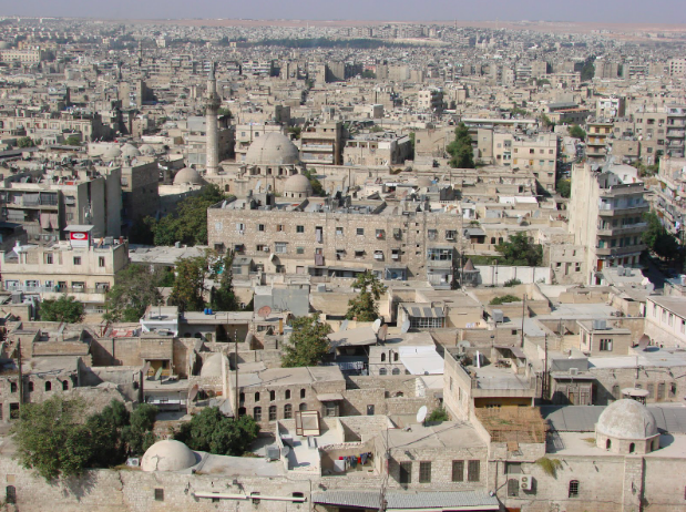 A view of Aleppo from above. CC by 2.0
