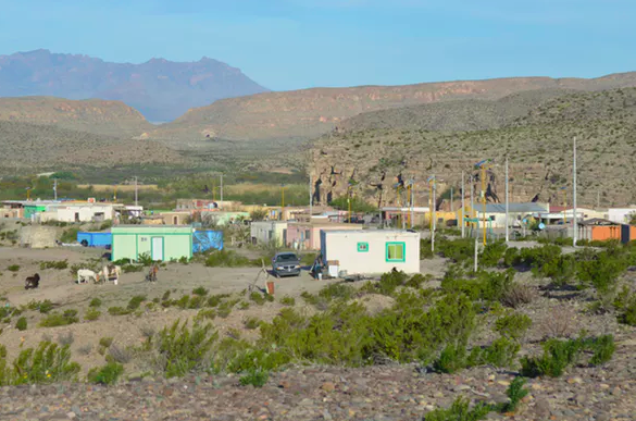 View of Boquillas, Mexico. Matthew Moran,  CC BY-ND