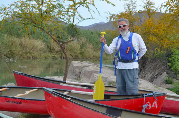 Ernesto Hernández Morales helps run Boquillas Adventures, an ecotourism company in the Boquillas region. Matthew Moran,  CC BY-ND