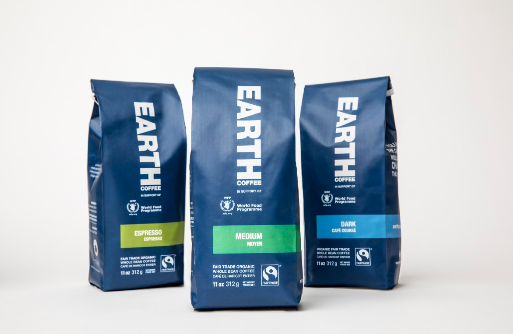 Purchase one bag of Earth Coffee online or in-store to feed one child for one entire week.