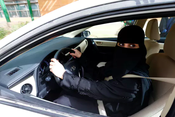 Women in Saudi Arabia have campaigned for gender equality, including the right to drive cars.  Reuters/Faisal Nasser