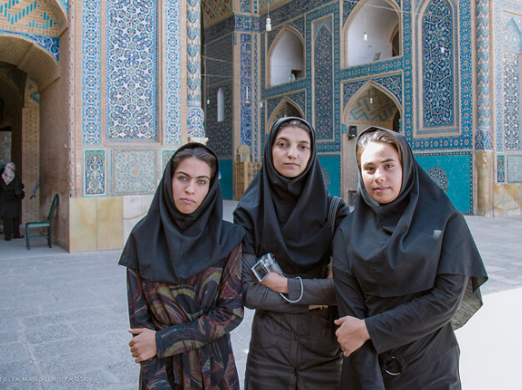 University students in Iran. Julia Maudlin. CC BY 2.0