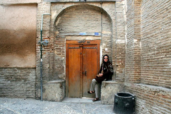A young woman in Gorgan, Iran. Soudeh Rad. CC BY-NC-SA 2.0