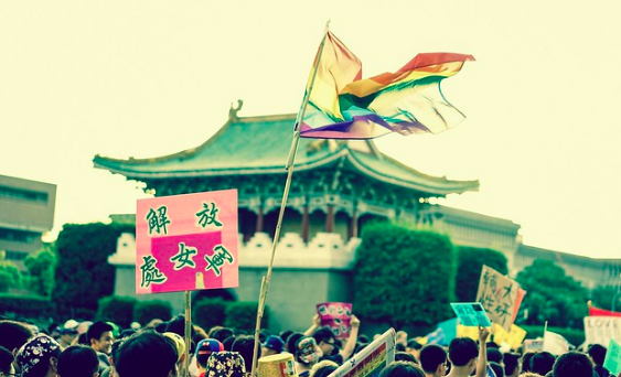 Appeal for Rights parade in Taipei, Taiwan. Luke,Ma. CC BY 2.0