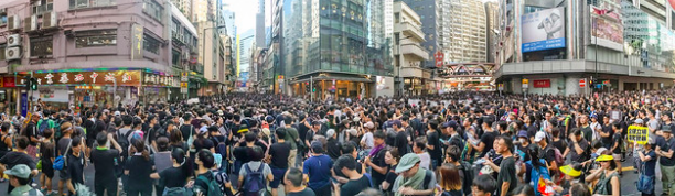 Protesters in Hong Kong. Studio Incendo. CC BY 2.0