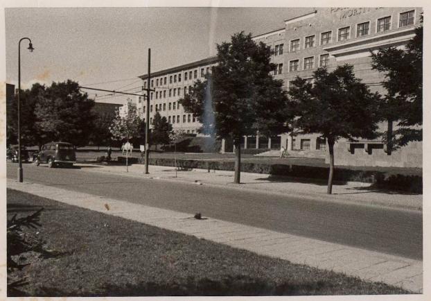 Faculty of Political Sciences, Ankara University. Fæ via Wikimedia Commons; originally by SALT Research via Flickr.
