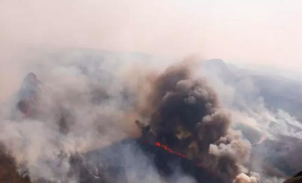 Fires burn across Santa Cruz state. Ipa Ibañez, Author provided