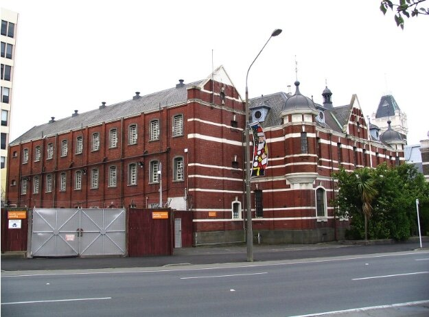 Historic prison in Dunedin, New Zealand. Benchill. BY-SA 3.0.