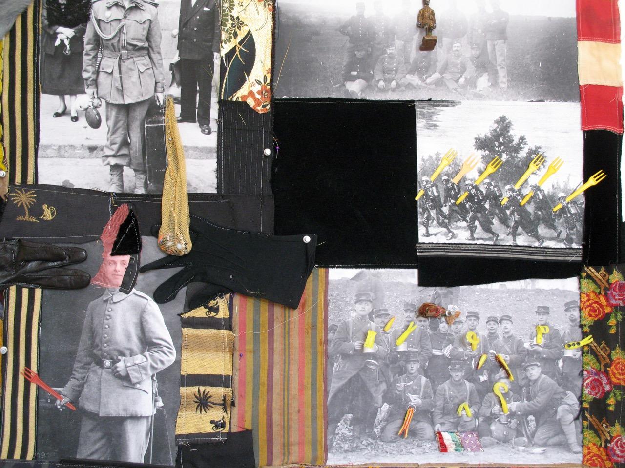 Detail of 'The Follies of War'