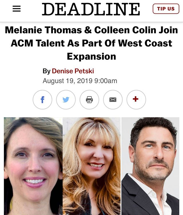 What a proud day for ACM Talent!  Please click link in my Bio for full story.  #Voiceover #VoiceoverArtist #Actor #VoiceActor #VO #Entrepreneurs